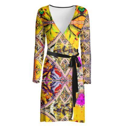 219,50 € AWESOME Wickelkleid! Wrap chilled dress: ninibing34 interpretiert die minerva von Bath neu auf diesem zauberhaften Wickelkleid! size S / 36