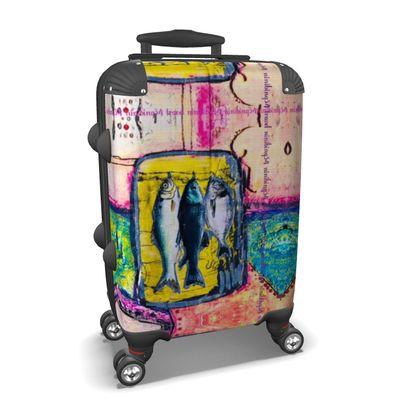 269,- ninibing34 DESIGNER Koffer SUPERFISCH Handgepäck, Koffer max. Cabin size