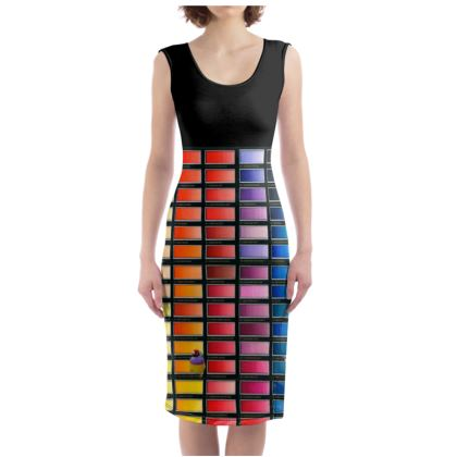 Colour Chart Bodycon Dress