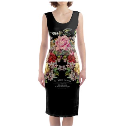 Nuit des Roses Bodycon Dress