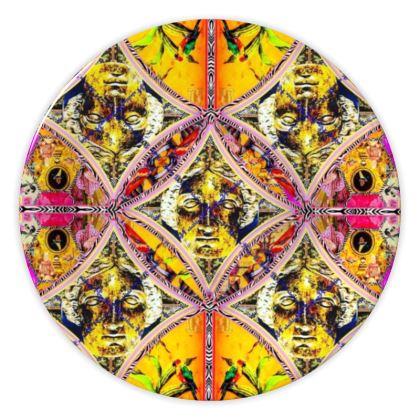 69,- DESIGNER Keramik Teller BRITISH MINERVA, china plate im bezaubernden ninibing34 DESIGNTeller, China plate 20 cm