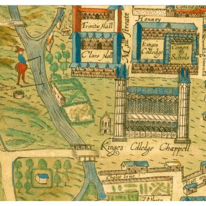 King's College chapel coasters