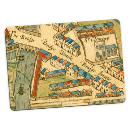 The Bridge Large Placemats - pack of 2