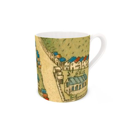 St Peters and St Giles Bone China Mug
