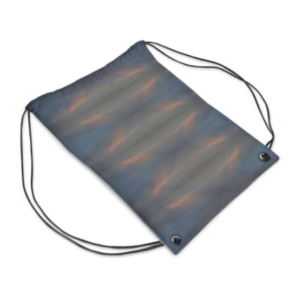 "Drawstring Bag ""nubes"""