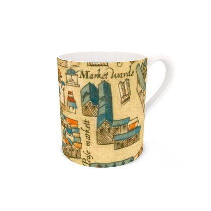 St Edwards and the market Bone China Mug