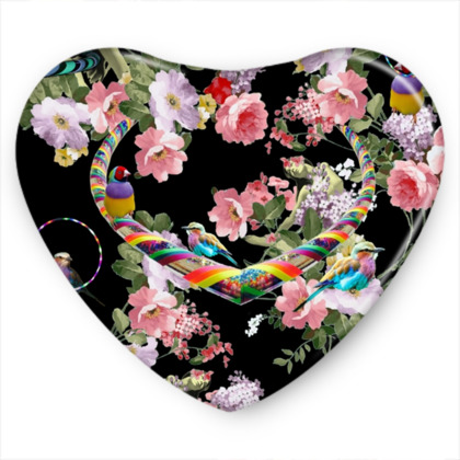 Hoop Love Sweet Heart Tin