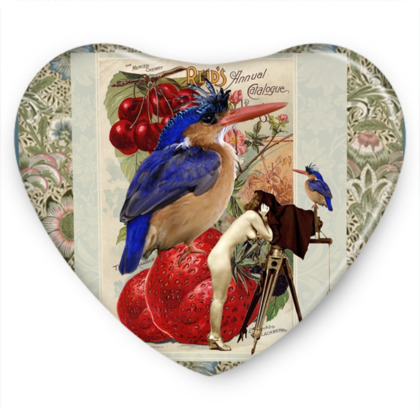 Watch the Birdie Sweet Heart Tin