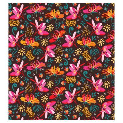 Tropical flower Loafer Espadrilles