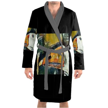 Duck Robe Housecoat (Dressing Gown) XS - 4XL Copyright © 2018 Joanne Shaw.