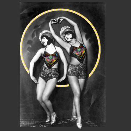 Dancing Girls Coasters