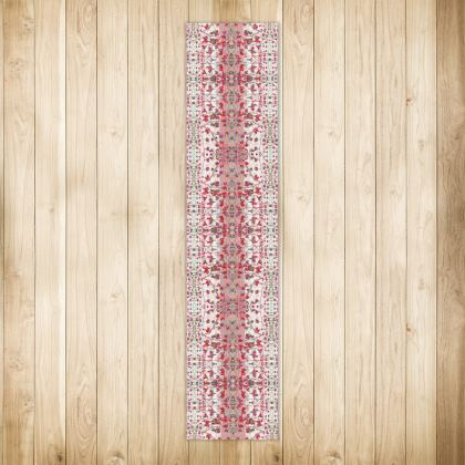Crimson Branch Extra long Runner Rug