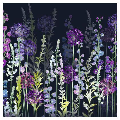 Midnight Purple Rapture Cushion