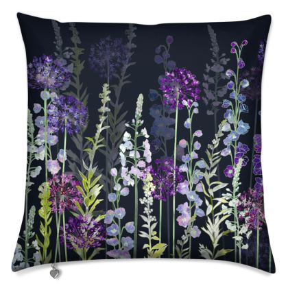 Midnight Purple Rapture Cushion
