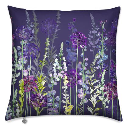 Evening Purple Rapture Cushion