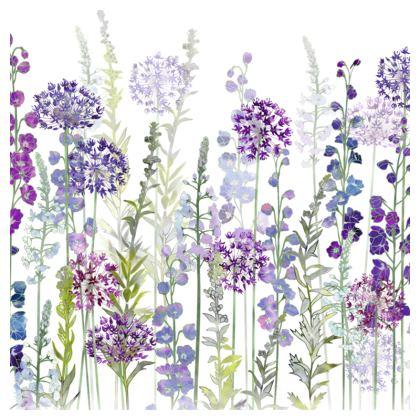 Purple Rapture Luxury Cushion