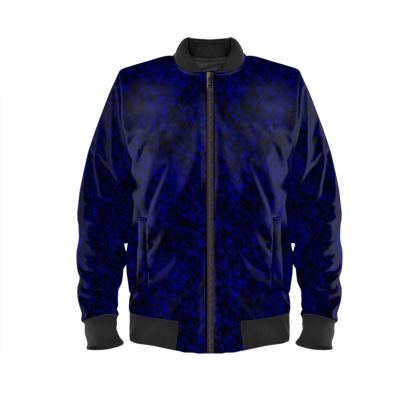Dark blue men's Bomber Jacket