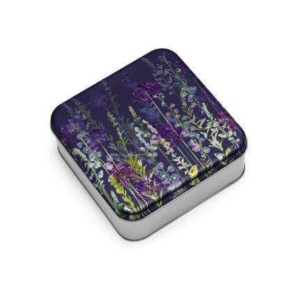 Evening Purple Rapture Wrap Lid Tin