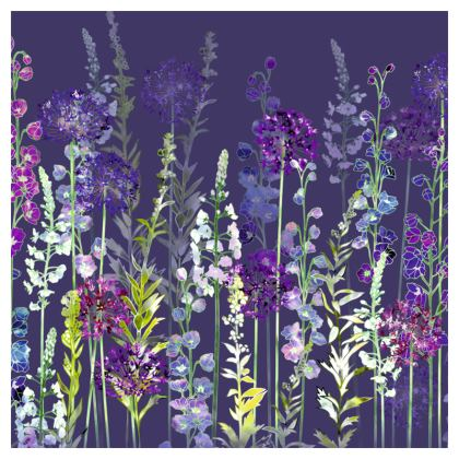 Evening Purple Rapture Coasters