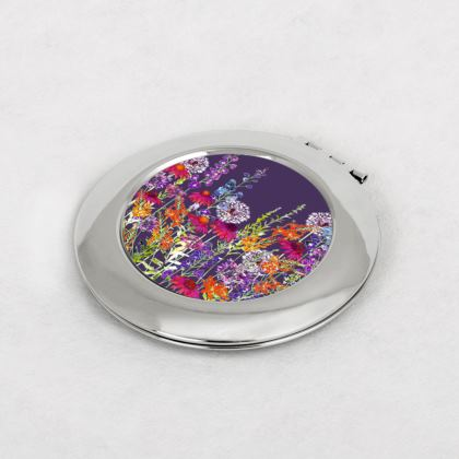 Midnight Symphony Compact Mirror
