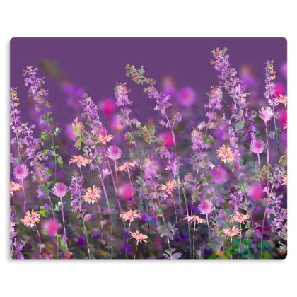 "The Bewitching Garden Metal Print. Size 10"" x 8"""