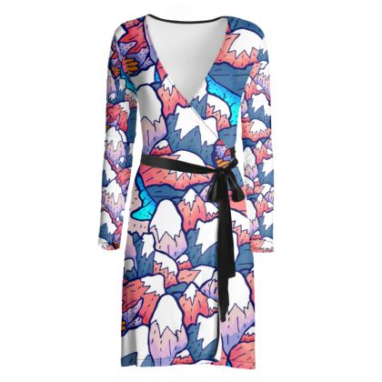 wrap dress - The lakes and peaks