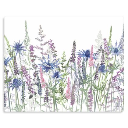 "Fairytale Meadow Metal Print. Size 10"" x 8"""