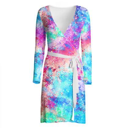 Cosmic colours dress