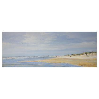"""""""Holkham Beach"""" Slimline tray"""