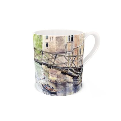 Mathematical Bridge Bone China Mug