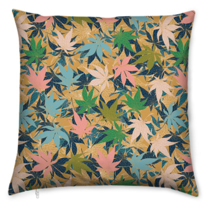 Maple Leaves Cushion