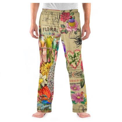 New Floral Guide Pyjama Bottoms
