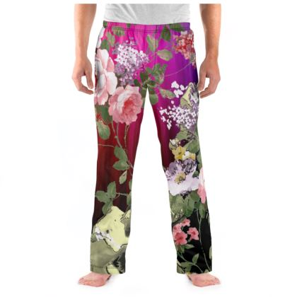Rainbow Flora Pyjama Bottoms
