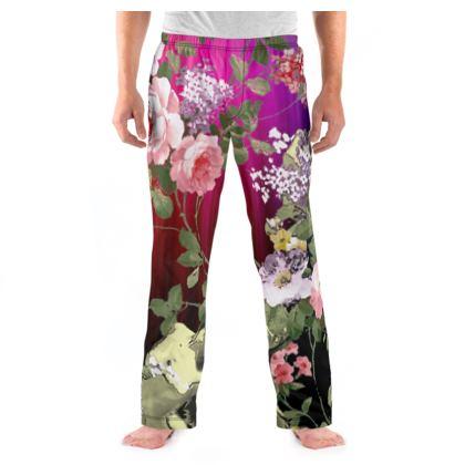 Rainbow Flora Pyjama Bottoms