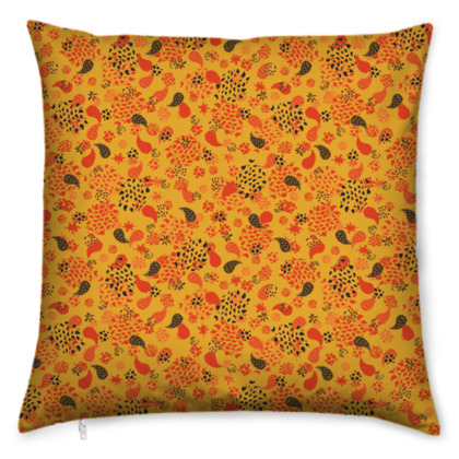 Ditsy Paisley Cushion
