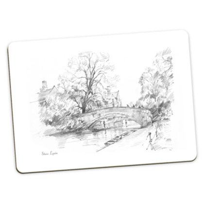 Large Placemats - pack of 2, both of King's Bridge