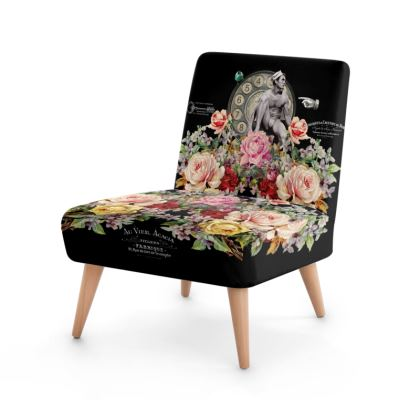 Nuit des Roses Revisited for Him Occasional Chair