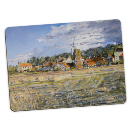 """""""Cley Mill"""" large placemats - pack of 4, each with same image"""