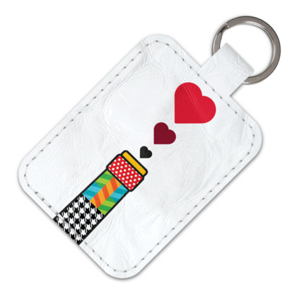 THE BREWERY OF LOVE, Leather Keyring