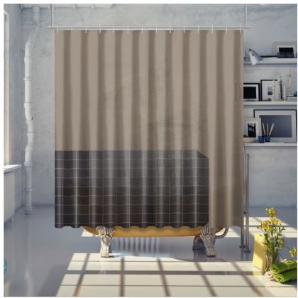 Scratch - Shower Curtain