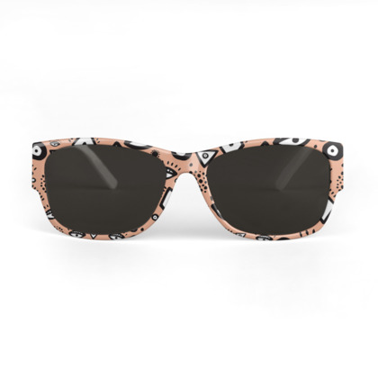 Tribal abstract pattern - Sunglasses