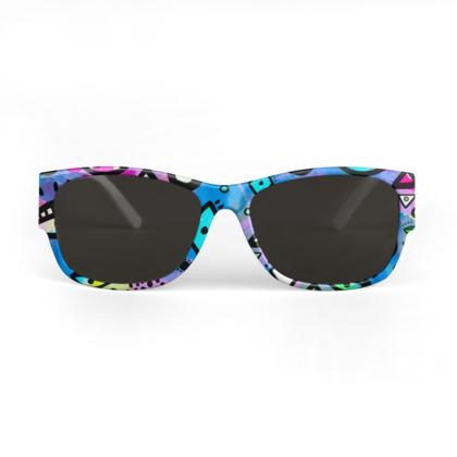 Tribal Pattern Hippy Shake - Sunglasses