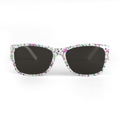 Tropical Flamingo - Sunglasses