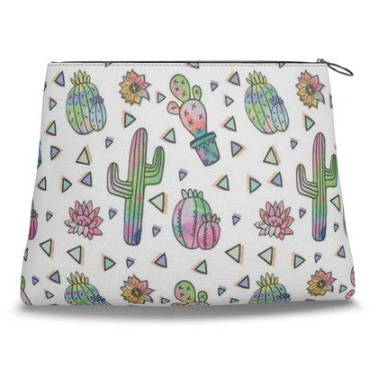 Crazy Cactus - Clutch Bag