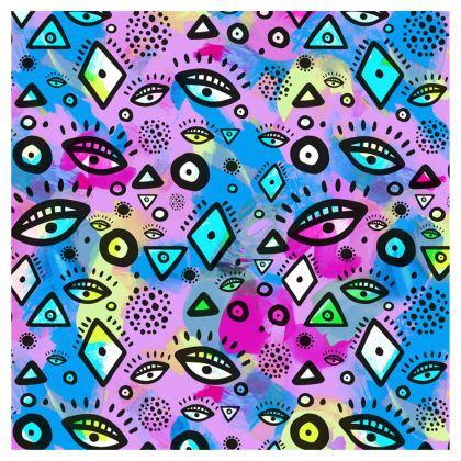 Tribal Pattern Hippy Shake - Ladies T Shirt
