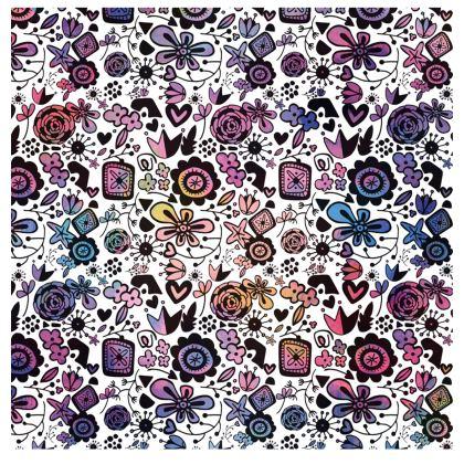 Botanical Folk Flowers - Handbags