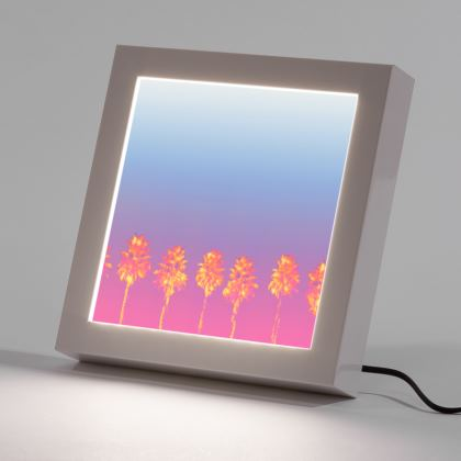 Palm Trees Collection LED Frame
