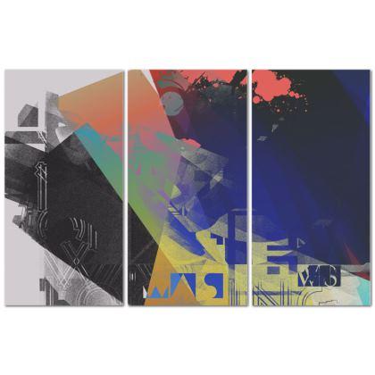 Babylon - Triptych Canvas