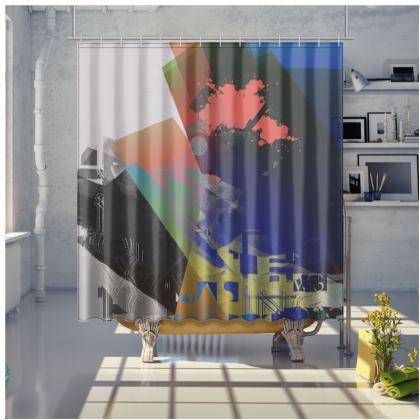 Babylon - Shower Curtain