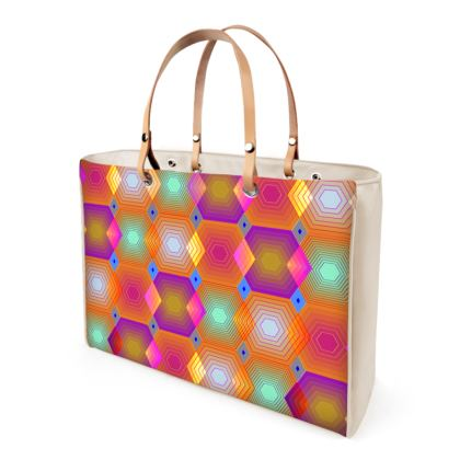 Geometrical Shapes Collection Handbag.